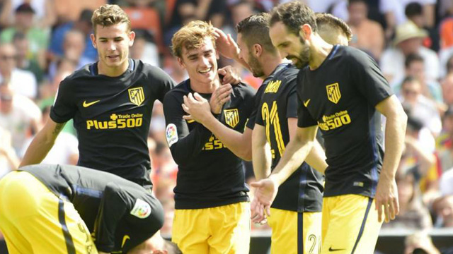 [Video] Cuplikan Gol Valencia 0-2 Atletico Madrid (Liga Spanyol)