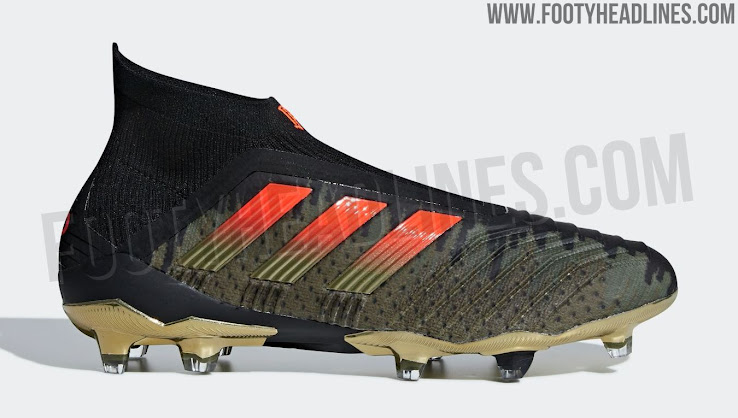 b8c6e36929c2 1 of 2. 2 of 2. 1 of 2. The Adidas Predator Paul Pogba Season 4 soccer  boots feature a stylish look in black ...