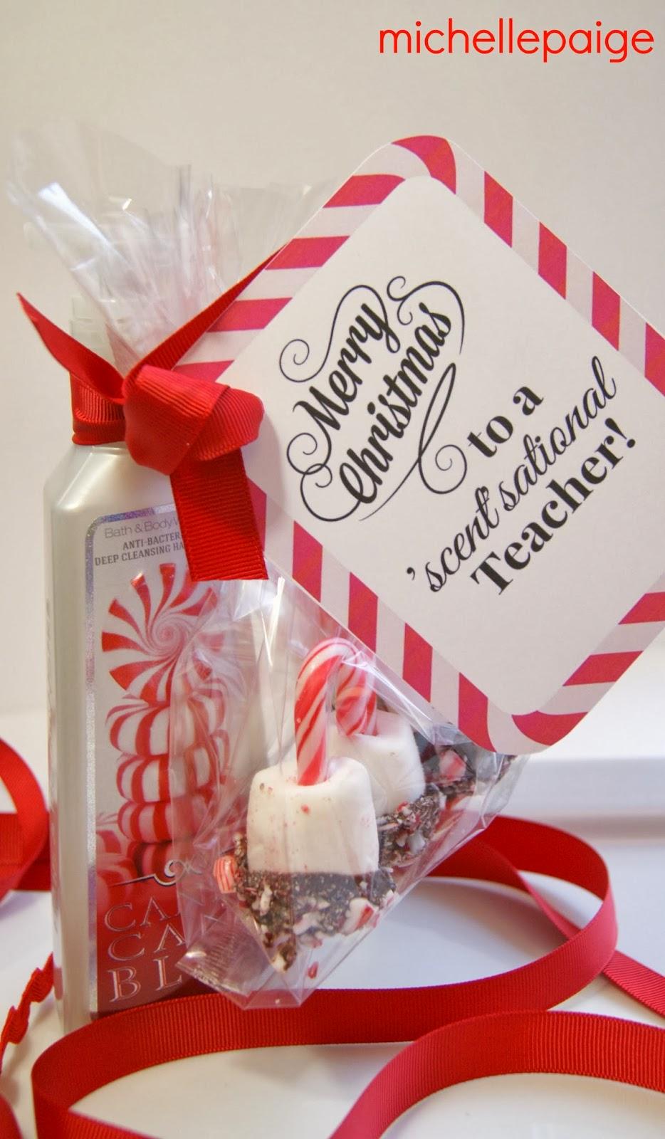 michelle paige blogs: Quick Teacher Soap Gift for Christmas