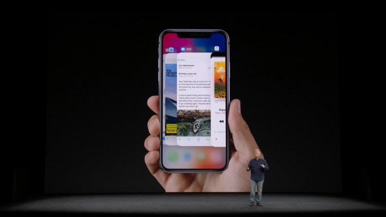 use-iphone-x-gestures Check out the Stunning iPhone X (iPhone 10) images Apple