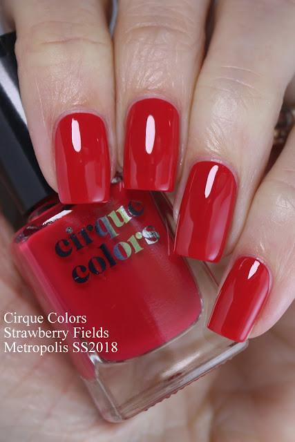 cirque colors Strawberry Fields