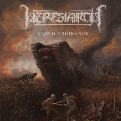 Heresiarch - Death Ordinance - Album Download, Itunes Cover, Official Cover, Album CD Cover Art, Tracklist