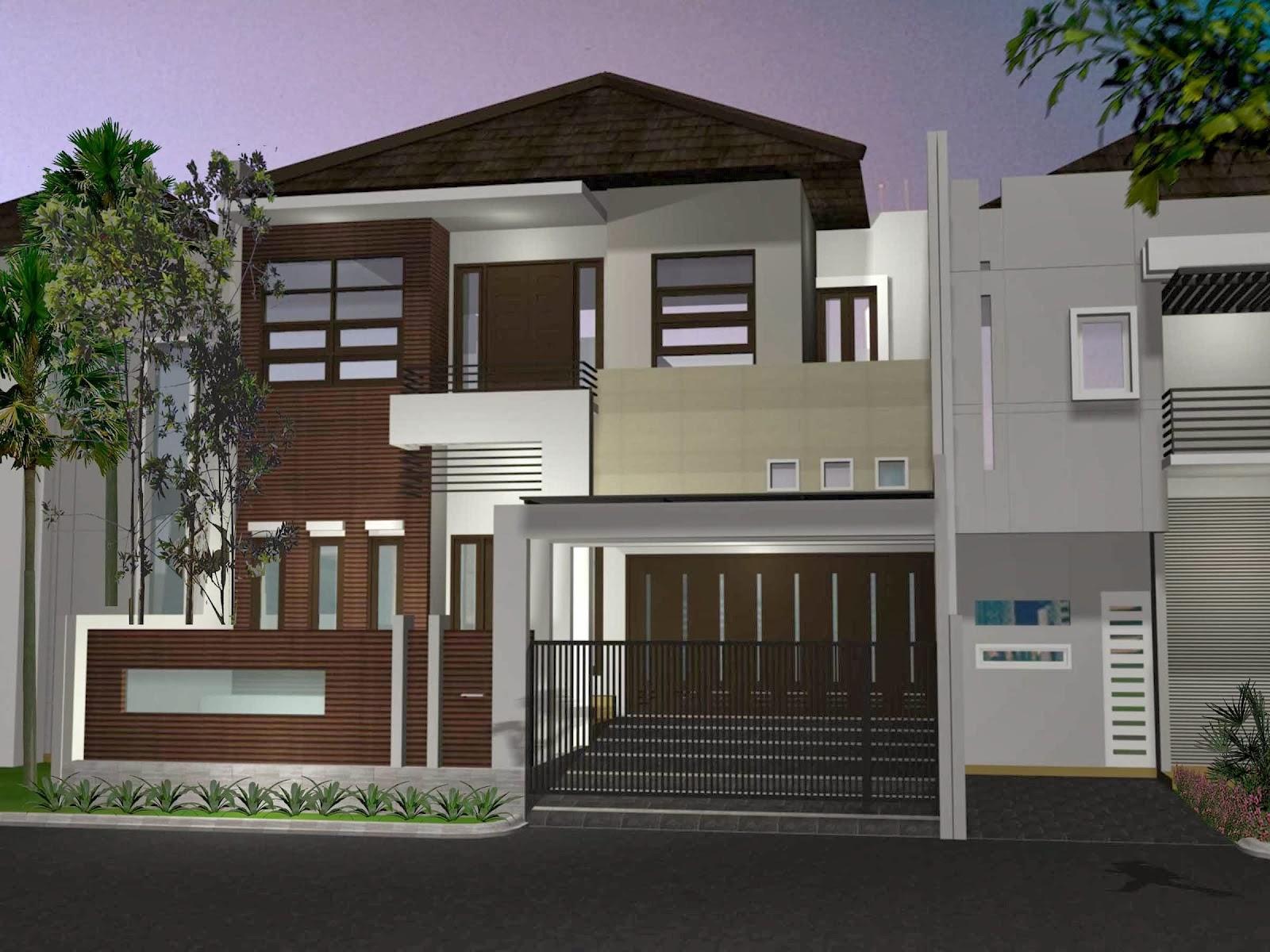 55 Desain Terbaik Rumah Minimalis 2 Lantai