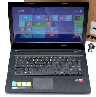 Laptop Lenovo G40-45 AMD A6 Second Fullset
