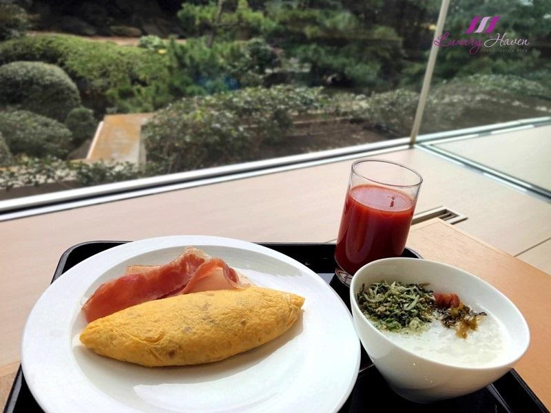 hilton tokyo bay lounge o buffet breakfast review
