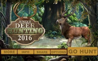 Download Game Jungle Deer Hunting 2016 Apk v1.1 (Mod Money) for Android Gratis