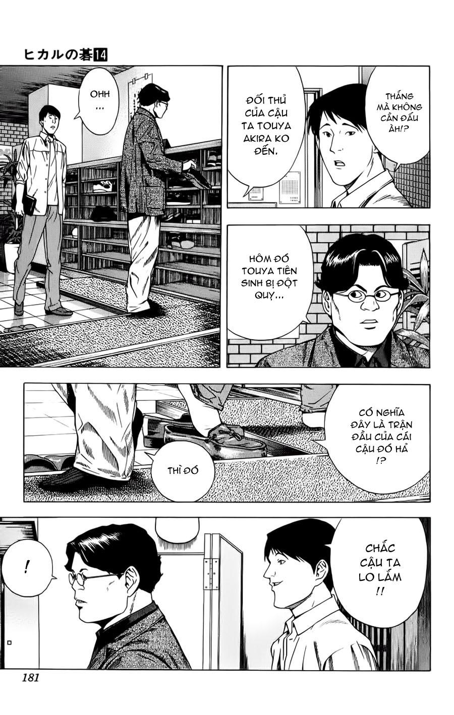 Hikaru No Go hikaru no go chap 121 trang 19