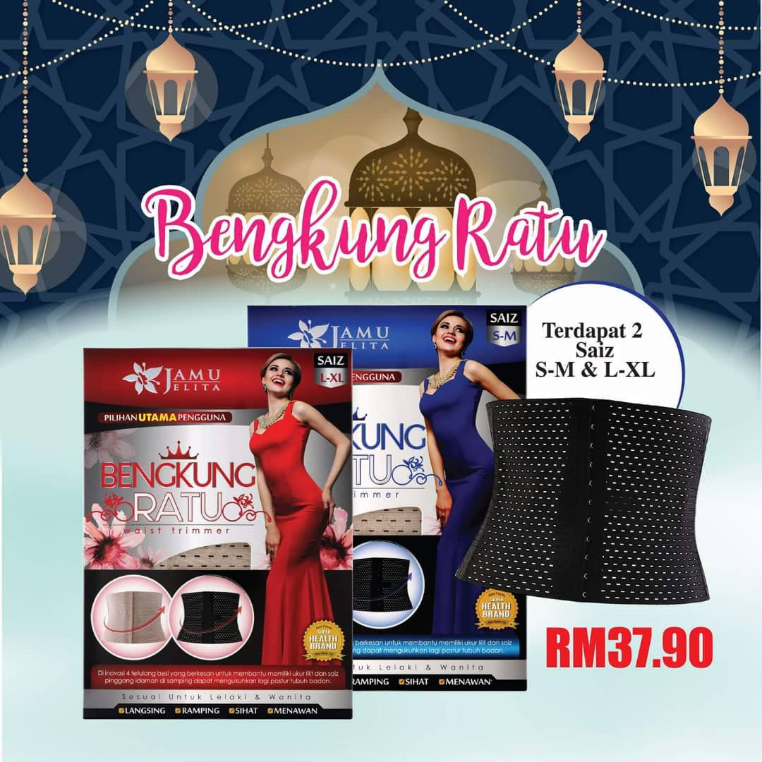 Azie Beauty Da House Bengkung Ratu Waist Trimmer Jamu Jelita Susu Bear Breand Plus Kurma