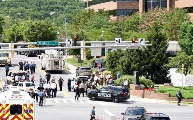 Жертвами стрілянини в Меріленді стали чотири людини
