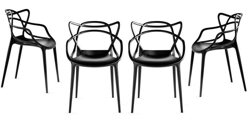 Arredo a modo mio masters di kartell tre sedie design in una for Sedia design kartell