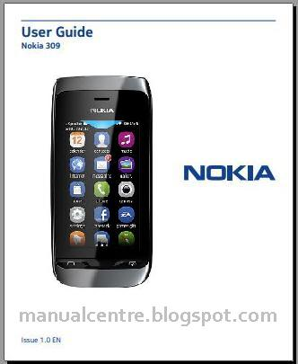 Nokia Asha 309 Manual Cover