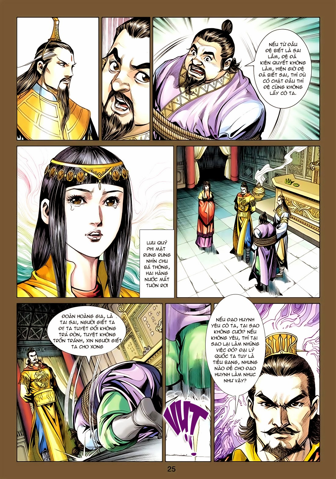 Anh Hùng Xạ Điêu anh hùng xạ đêu chap 77: thế thượng tối cường võ công trang 25