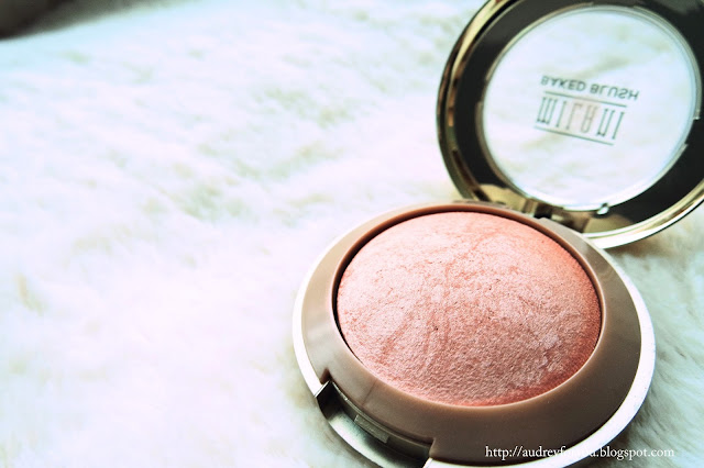 Audrey For You September Favourites Milani Baked Blush Luminoso
