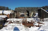 Пожар в селе Новопышменское
