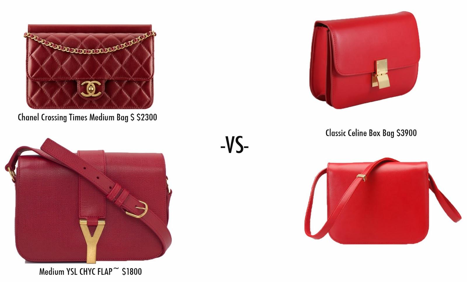 Celine Box Bag Nouvelle Chic