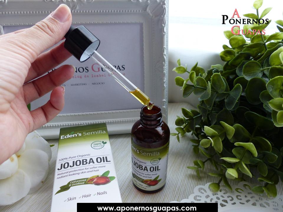 A Ponernos Guapas  Propiedades y usos del aceite de jojoba 7a3a0c7d1c20