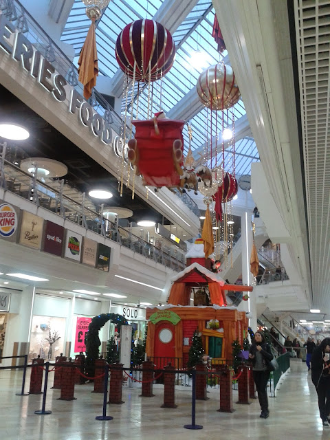 Santa's Grotto at The Galleries, Bristol