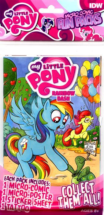 mlp fun pack series 1 issue  u0026 3 comic covers
