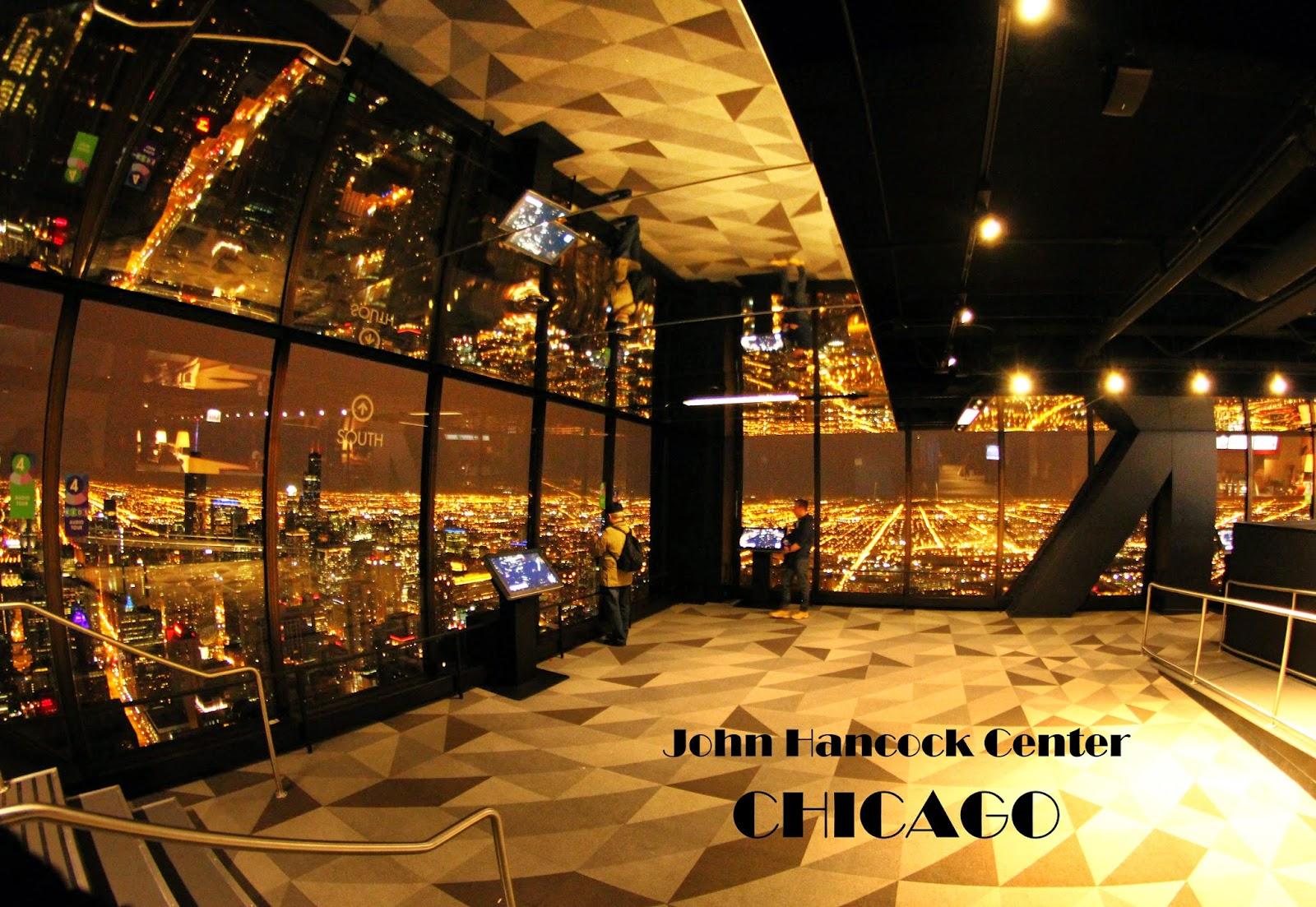 360º CHICAGO - No topo do John Hancock Center para ver as melhores vistas de Chicago | EUA