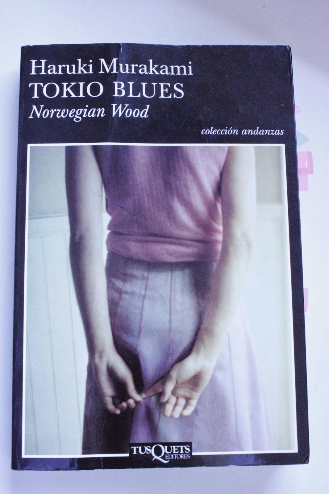 Libro Tokio Blues de Haruki Murakami