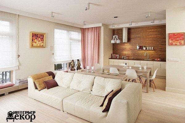 лаконичный интерьер студийной квартиры