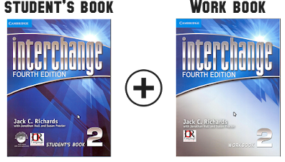 Interchange 2 Fourth Edition students book and work book