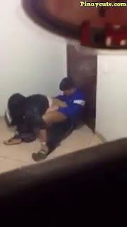 Huli ang magsyota na nagkakanaan sa CR ng school
