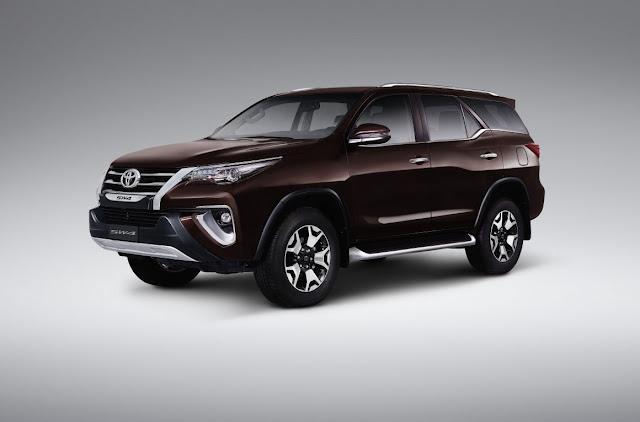 Toyota Hilux SW4 ganha nova versão topo de linha