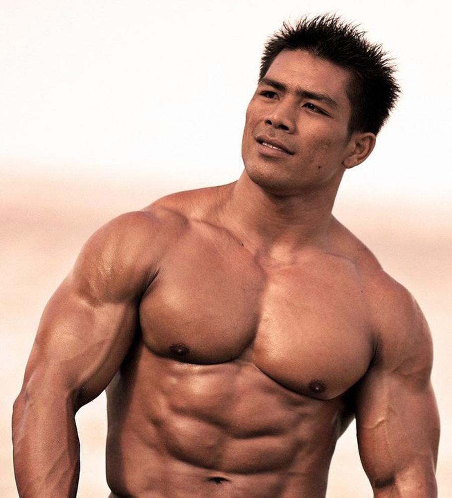 Latino musclemen