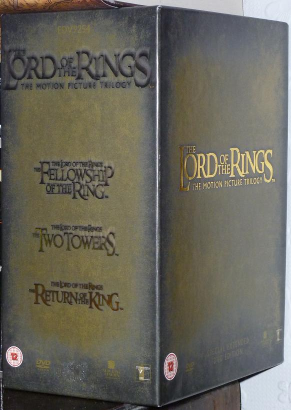 Thaddeus the Sixth: Review: The Lord of the Rings extended