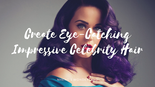 Create Eye-Catching Impressive Celebrity Hair