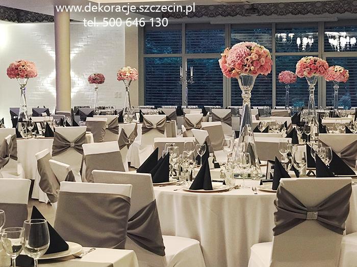 Dekoracja weselna Marena Wellnes & Spa Międzywodzie