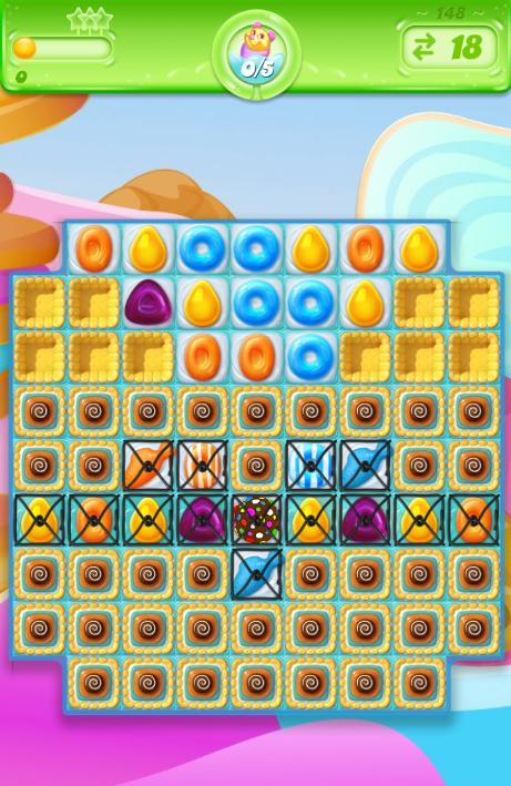 Candy Crush Jelly Saga 148