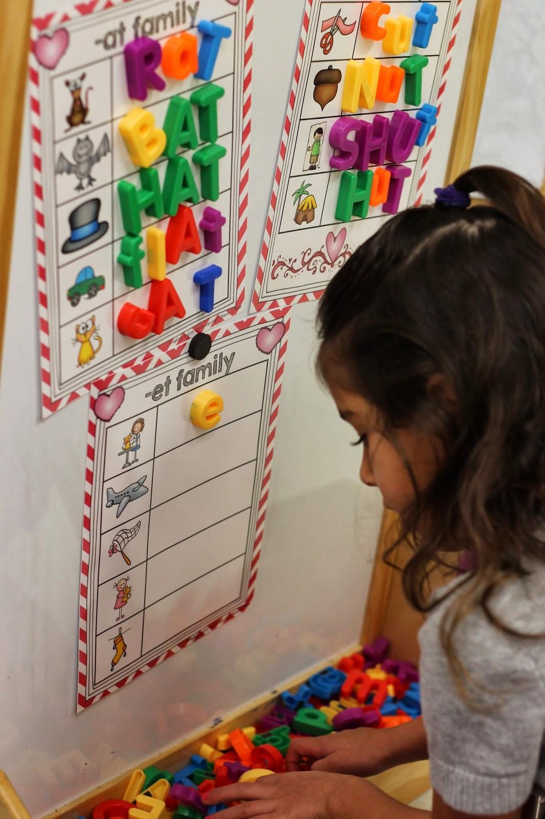 Kindergarten Smiles Word Work Make Your Life Easier