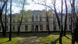 Миргород. Колишня чоловіча гімназія. 1908-1910 р.р.
