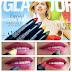 Swatches de los labiales Camaleon con Glamour