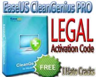 Get EaseUS CleanGenius PRO With Free And Legal Activation Code
