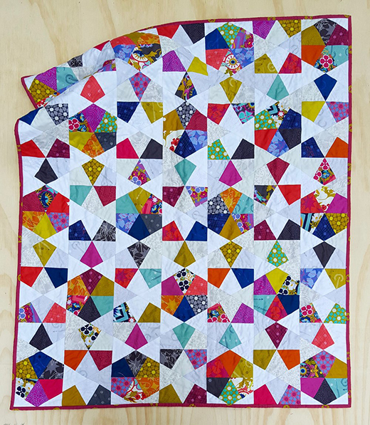 Waterwheel Paper Piecing Quilt Free Pattern Designed by Jodi of Tales of Cloth