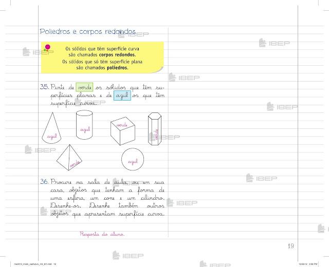 Caderno Do Futuro Matematica 3 Ano Para Imprimir