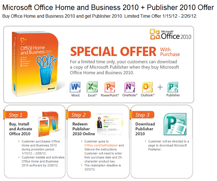 Eastern Data Technical Blog: Office 2010 Home and Business + Free ...