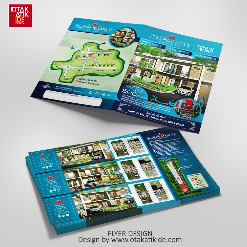 108 Desain Promosi Perumahan Terbaru