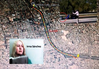 Era la voz que estaba esperando la jueza Mónica Lucero para comprobar lo ocurrido la mañana del 8 de septiembre cuando la mujer chocó de frente la moto de Leslie Arustizia.