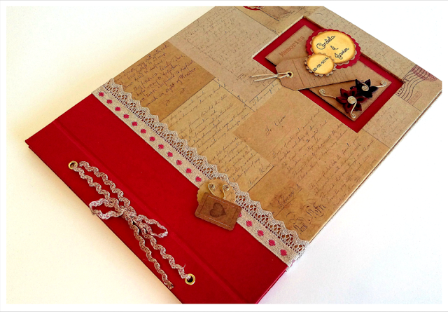 Libro de firmas para boda estilo vintage