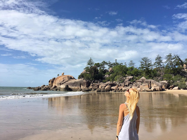 Plage de Magnetic Island Australie