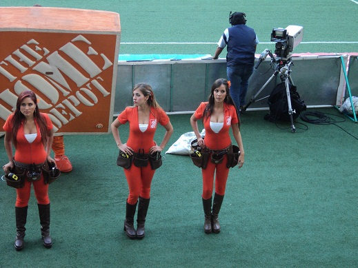 Bellezas en el Estadio Omnilife