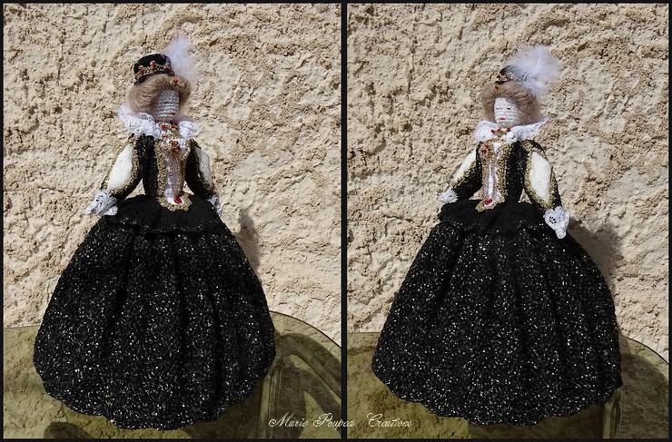 Poupée Marie Stuart