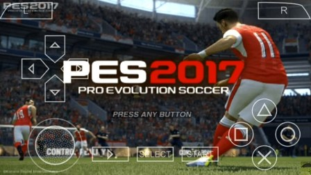 Download PES 2017 PPSSPP ISO By Army
