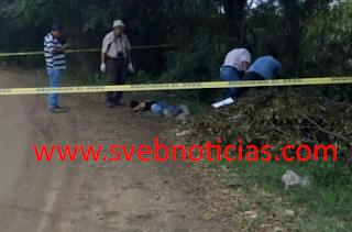 Hallan un ejecutado en camino al basurero de Carlos A. Carrillo Veracruz