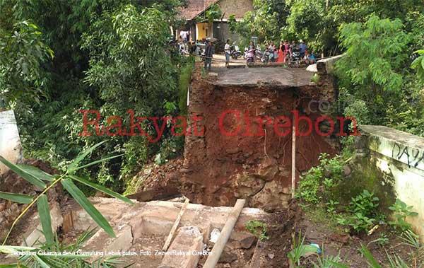 sejumlah wilayah kabupaten cirebon masih terancam banjir