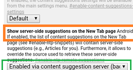 How To Change Chrome New Tab Articles Preference As Google